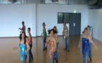 NOS DANSEUSES DU MODERN JAZZ EN REPETITION